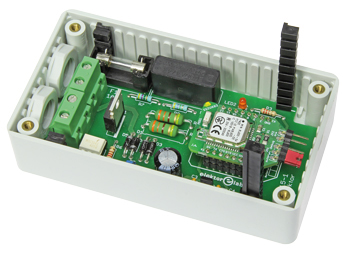 Line AC Switch Controlled by Bluetooth Low Energy