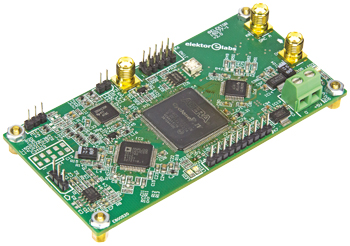 FPGA-DSP Board for Narrowband SDR