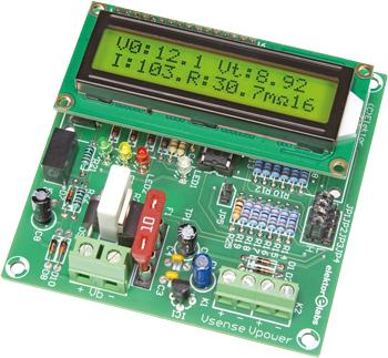 Lead-acid battery activator 0-30V