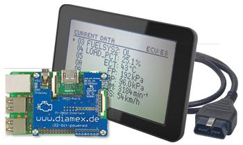 OBD2 Handheld using a Raspberry Pi | Elektor Magazine