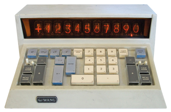 The Wang 320SE: a Time-sharing Calculator (ca. 1970)