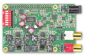 Elektor RPi Audio DAC and Volume Control Tweaks & Updates