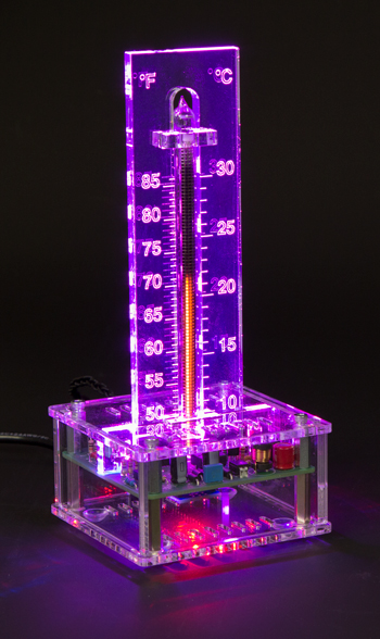 Nixie Bargraph Thermometer