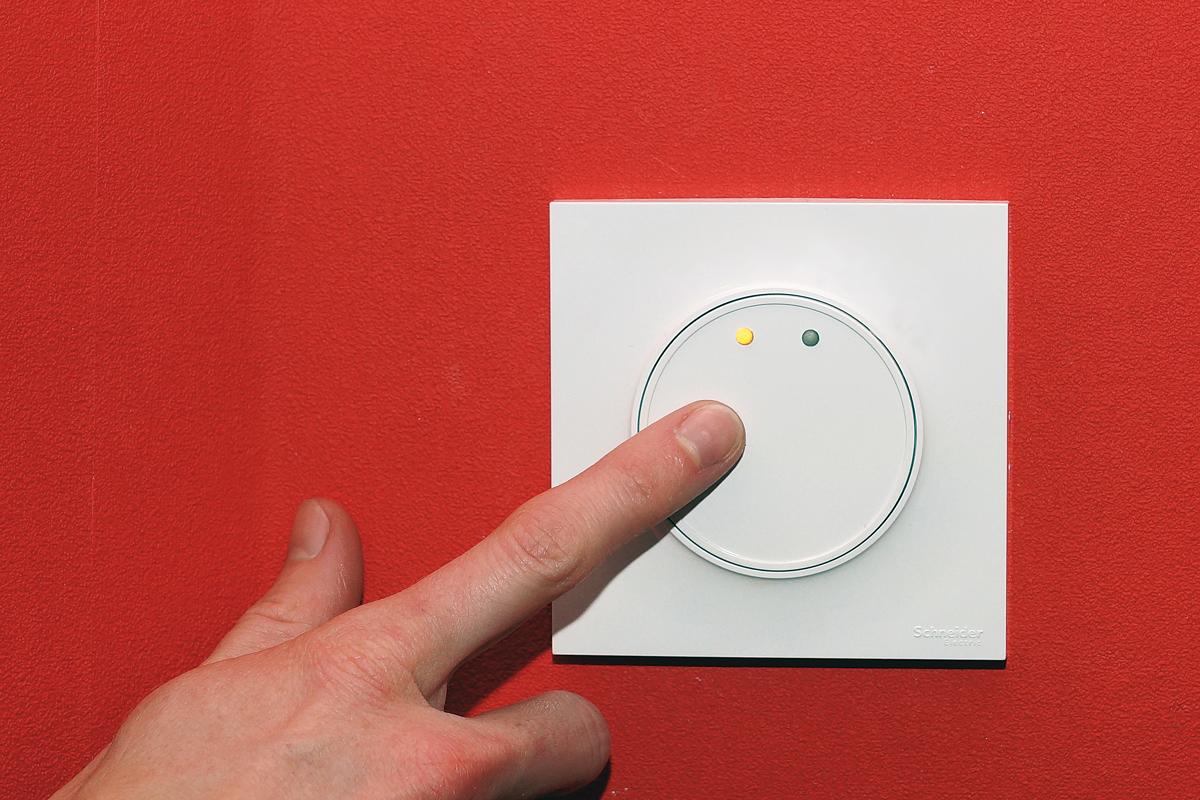 impact interrupteur mural polyvalent commande tactile. Black Bedroom Furniture Sets. Home Design Ideas