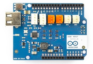 The Arduino USB Host Shield