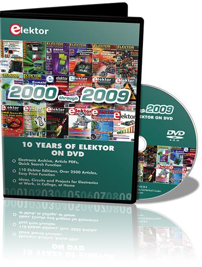 DVD'ed: The Full Range of 2000-2009 Volumes of Elektor Magazine