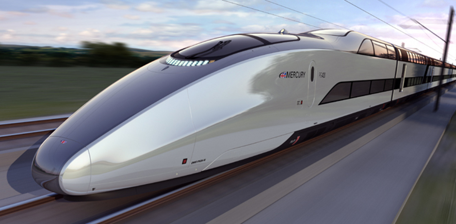 High-Speed Double-Decker Train Design: Mercury