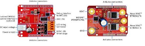 Arduino Shields from Infineon