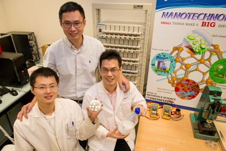 Li-Ion battery recharges to 70% in 2 mins