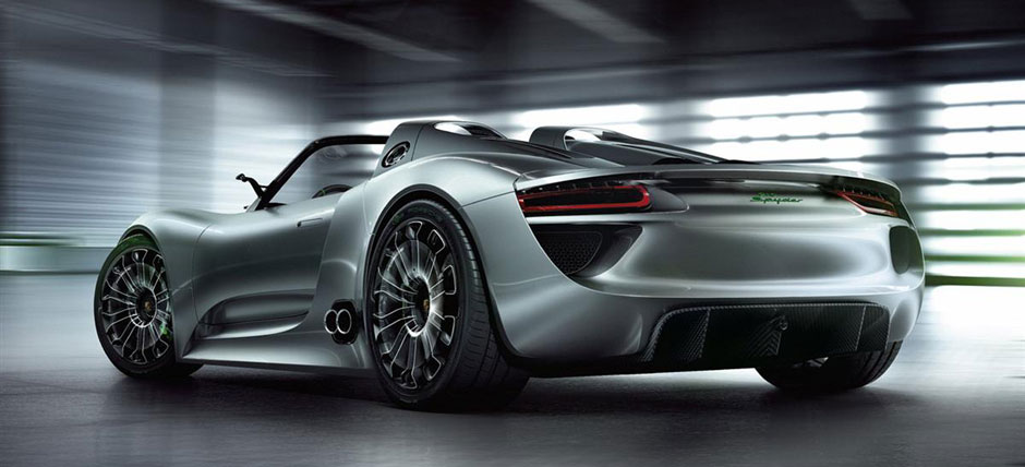 Porsche Spyder 918 Hybrid Headed For Production