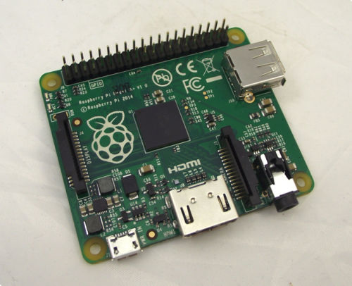 Latest low cost A+ Pi now available from Elektor