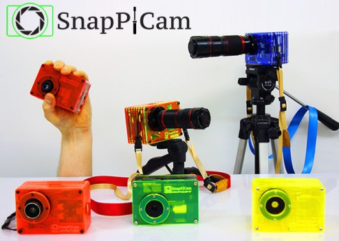 SnapPiCam, a DIY Digital Camera