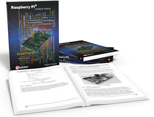 Novo Livro da Elektor Sobre Projectos Hardware com Raspberry Pi