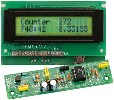 Kit of parts for Elektor Improved Radiation Meter