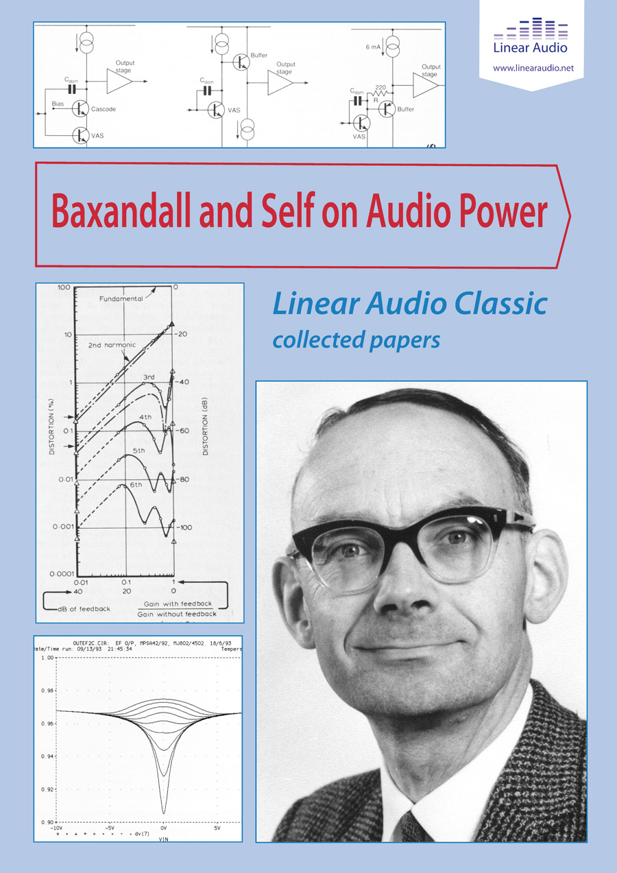 Republished: Baxandall and Self on Audio Power