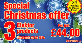 Don't forget to pick up your Christmas Discounts at Elektor