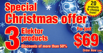 Reminder: Holiday Discounts at Elektor!