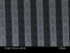 Metal-assisted chemical etching facilitates GaAs surface feature fabrication