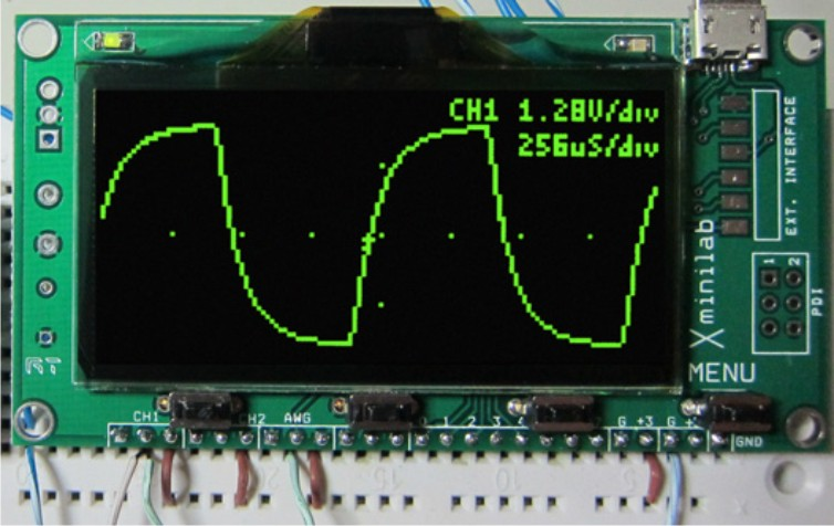 An oscilloscope for 64 dollars (or 49)