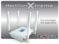 Multi-protocol wireless router links sensor networks to the Internet