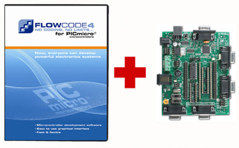 Free E-blocks PIC MultiProgrammer with Flowcode 4