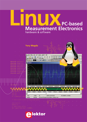 New book from Elektor: Linux - PC-based Measurement Electronics