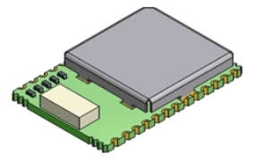 Integrated GPS module provides advanced localisation support