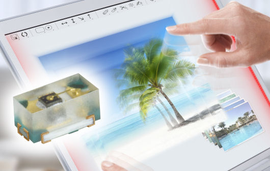 ChipLED for ultra low profile displays