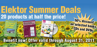 Summer Deals @ Elektor: 20 products at half the price!