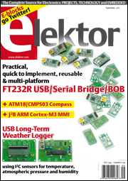 Get to know Elektor: Six issues for just $19.95