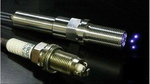 Laser sparks revolution in internal combustion engines