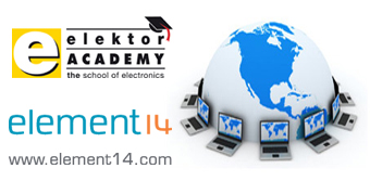 "Get ready for the ""Elektor Academy Webinar Series in Partnership with element14"""