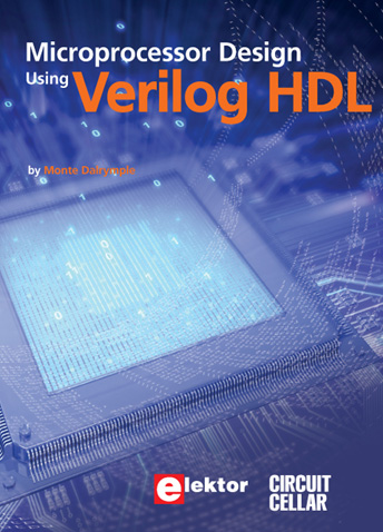 New book 'Microprocessor Design using Verilog' -- Now Taking Reservations