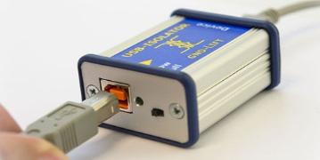 USB isolator prevents ground-loop problems
