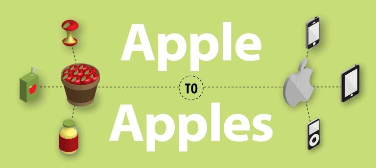 Apple vs Apples
