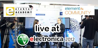 Meet Elektor at Electronica 2012