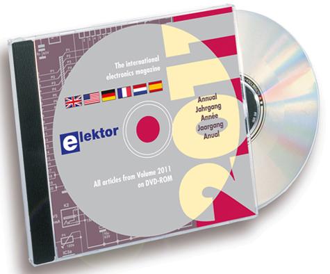 It's here! Elektor Volume 2011 on DVD