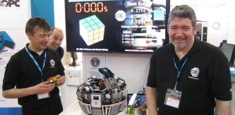Robot Sets New World Record For Solving Rubik's Cube
