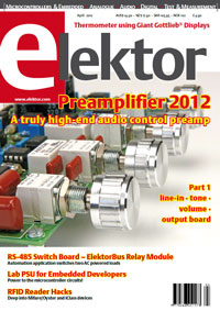 Elektor's April 2012 Issue Now On Sale