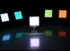 Colourful Polymer OLED Lighting Panels are Gentle on the Eyes