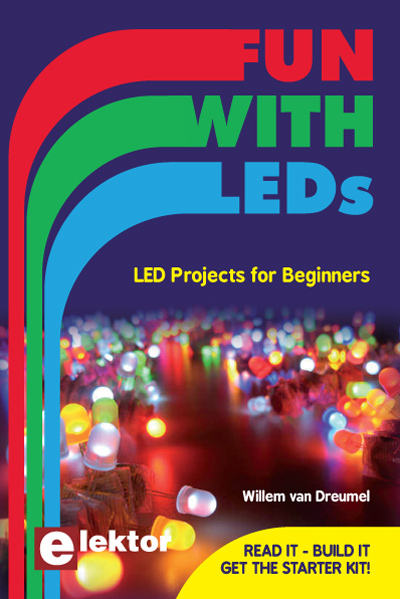 New book from Elektor: Fun with LEDs