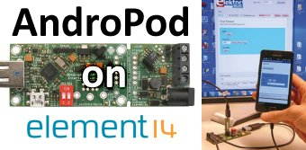 Free Webinar: AndroPod - Bridging Android and your Electronics Projects