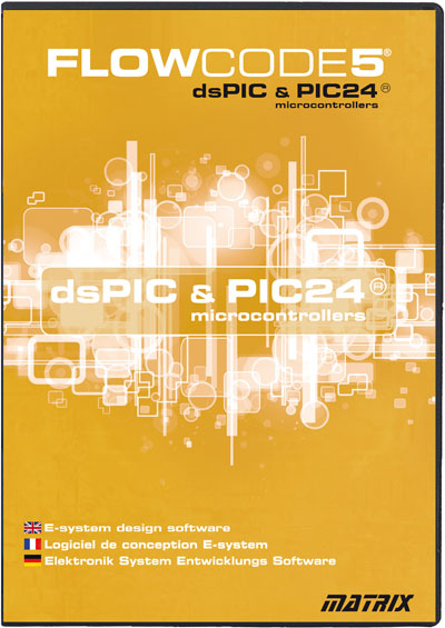 Flowcode 5 For dsPIC and PIC24 Now Available