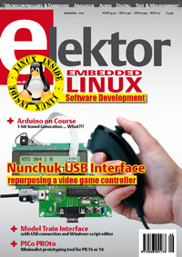 Elektor September 2012 Edition Now on Sale