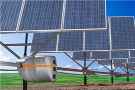 Robots Keep Solar Panels in the Sun