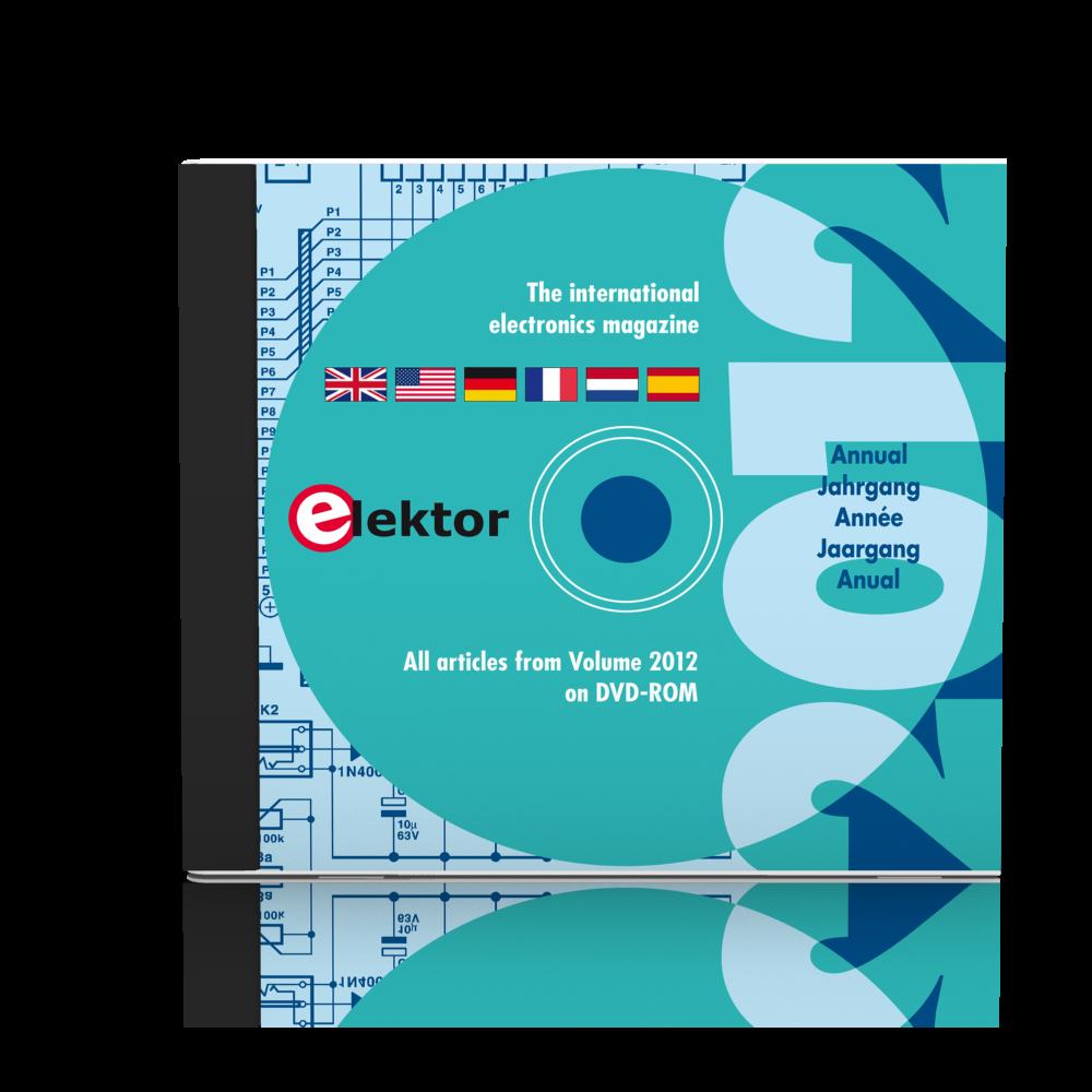 It's here! Elektor Volume 2012 on DVD