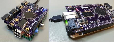 Beaglebone and Raspberry Pi FPGA Board
