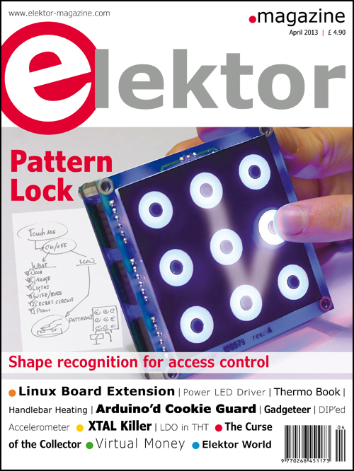 Elektor April 2013 Edition Published