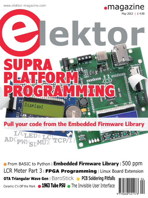 Elektor May 2013 Edition Published