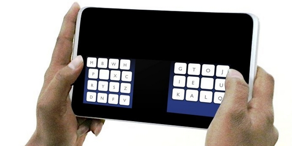 New Keyboard Design Enables Much Faster Thumb-typing on Touchscreens